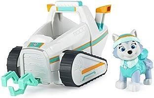PAW PATROL Everest's sneeuwploegvoertuig met verzamelfiguur, voor kinderen vanaf 3 jaar en ouder, veelkleurig