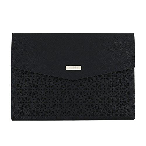 Kate Spade New York perforiert Umschlag Folio Schutzhülle für iPad Pro 24,6cm schwarz schwarz (Ipad Cover Von Kate Spade)
