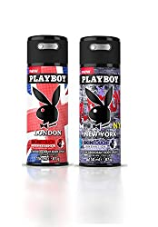 Playboy (Landon + Newyork) Men Deo Pack Of 2