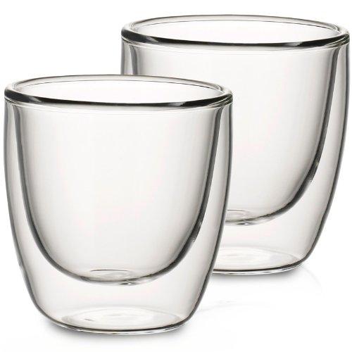 Villeroy & Boch 1172438090 Artesano Heißgetränkebecher 2-er Set, transparent (Tassen Espresso Transparent)
