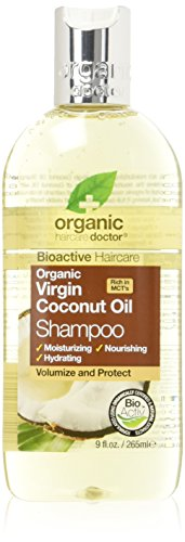 Dr Organic Coconut Oil Shampoo 265 ml