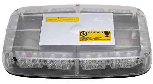 Ampoule Voiture 12V 48W 240pics Double rangée creusets de camion de danger de sécurité d'urgence de la torche électrique Attention Roof Top Strobe Mini Lumière de la lampe Bar avec km102e Base magnétique rouge