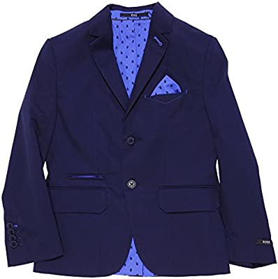 Hugo Boss blue cotton jacket
