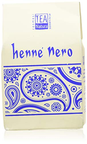 Henné Nero Naturale TEA NATURA - Confezione da 100 g