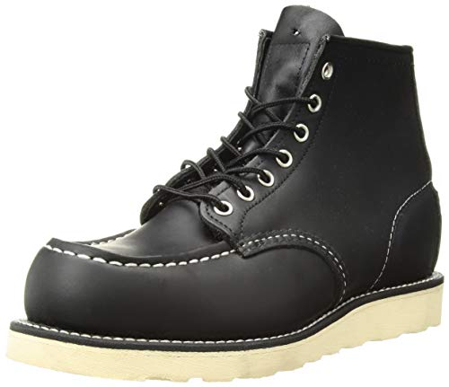 Red Wing Shoes 8130 Moc Toe Schwarz Schnürstiefel Work Boots -