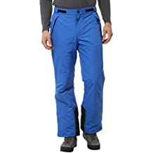 Ultrasport Arlberg - Pantalones de esquí y snowboard para hombre, color azul, talla L