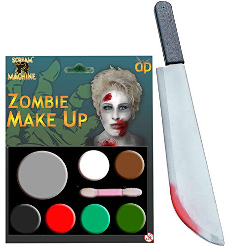 Deluxe Nerd Zubehör Kit - labreeze Zombie Multi Paletten Make-up Plastik