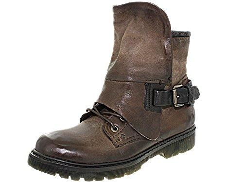 bottines rangers mjus 553207 taupe, chaussures fem femme mjus c41mjus012 Taupe