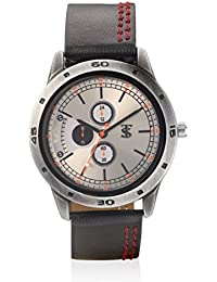 Teesort Analog Watch With Leather Strap WATCH-109
