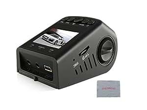 Shennosi ® A118 B40 Stealth Full HD 1080P 3,8 cm Dvr Caméra enregistreur super grand Angle 170° avec objectif 6 G-Design Compact et ergonomique conçu pour dissimuler Capteur G Vision nocturne pour détection de mouvement Carte SD 16 Go Cadeau offert!!