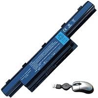 Amsahr Aspire E1-05 6 Cell 4400mAh Replacement Battery for Acer Aspire E1 Series, E1-571, E1-571-32324G50MNKS preiswert