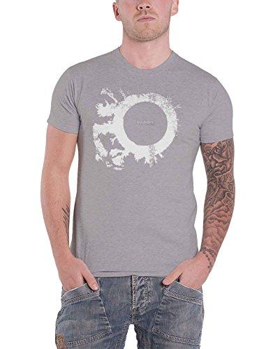 Bauhaus T Shirt The Skys Gone Out Band Logo Nue offiziell Herren Grau
