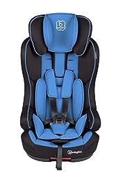 BabyGO Safe+ Isofix Kinderautositz Side Protection Gruppe I/II/III (9-36kg) blau