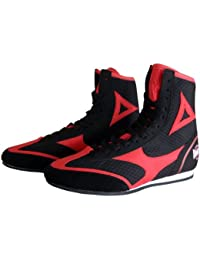 Amber Fight Gear TechMaxxe v1.0 Half Height Boxing Shoes, 7