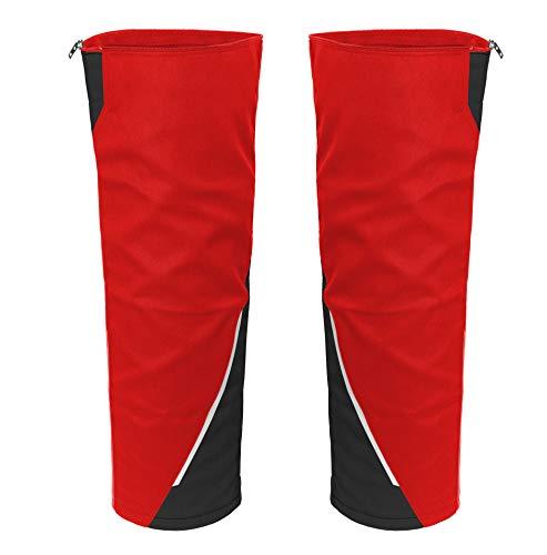 Grizzlyskin Beinling für Arbeitsshorts Iron -Workwear Beinverlängerung für Kurze Arbeitshose, Farbe: Rot/Schwarz, in Größe: N4