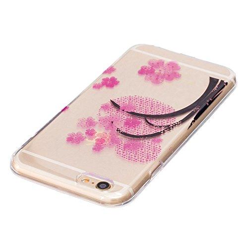 iPhone 6 Plus Hülle, Voguecase Silikon Schutzhülle / Case / Cover / Hülle / TPU Gel Skin für Apple iPhone 6 Plus/6S Plus 5.5(Shar Pei 05) + Gratis Universal Eingabestift Kirschblüten 06