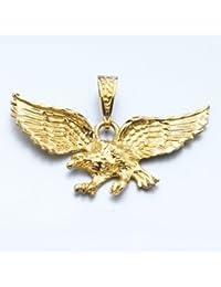 LIOR-Colgante Aguila Alas abiertas -Chapado Oro