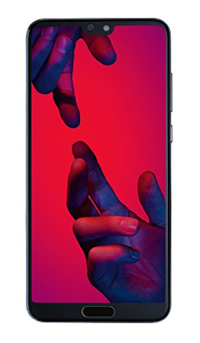 Huawei P20 Pro Smartphone Bundle (15,5 cm (6,1 Zoll), 40/20/8 MP Leica Triple Kamera, 128GB interner Speicher, 6GB RAM, Android 8.1, EMUI 8.1) Blau [Exklusiv bei Amazon] - Deutsche Version