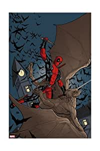 Deadpool :  le gant#1 housse :  Deadpool Art Poster de Frank Cho, 16 x 24