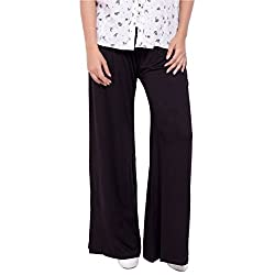 Diva Boutique Womens Palazoo (bv-02_Black_34)