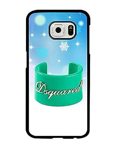 Samsung Galaxy S6 CoqueCase for Man Woman Dsquared2 Galaxy S6 CoqueCase Brand Logo Dsquared2 Drop Proof Dsquared2 Samsung S6 CoqueCase