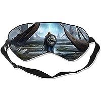 Damen Fantasy Wikinger Warrior Drakkar Shield Schlafmaske mit verstellbaren Trägern Standard Größe preisvergleich bei billige-tabletten.eu