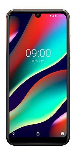 Wiko View3 Pro Smartphone débloqué 4G (Ecran 6, 3 Pouces - 6 Go RAM - 128 Go Stockage - Double Nano-SIM - Android 9 Pie) Nightfall + Coque de Protection Inclus