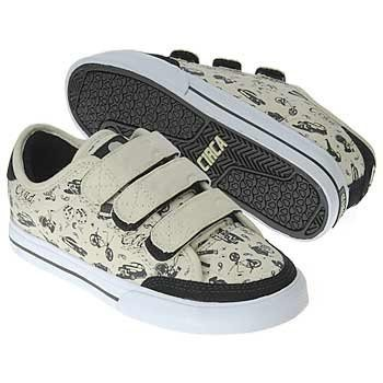Circa Skateboard Shoes ALW50V Black/Cream Lowrider - C1rca Shoes - Sneaker, shoe size:36.5