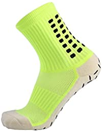 MoGist Hombre Zapatillas de Fútbol Calcetines Algodón verdicken Silicona Antideslizante Transpirable Deportes Calcetines de absorción del