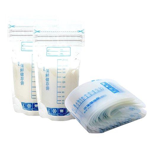 30X-Brustmilch-Aufbewahrungsbeutel-250-ml-Stillen-Gefrierschrank-Aufbewahrungsbeutel-Taschen-fr-Brustmilch-kommt-vor-sterilisiert-BPA-frei-mit-przisen-Messungen-und-Dichtheitsprfung