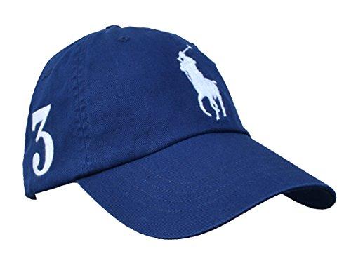 Ralph Lauren Big Pony Cap Basecap Blau Navy One Size