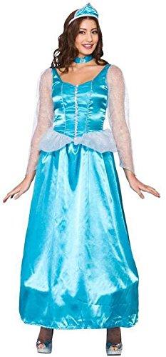 Princess Fancy Kostüm Dress Ice - Ice Blue Princess (S) Fancy Dress Costume