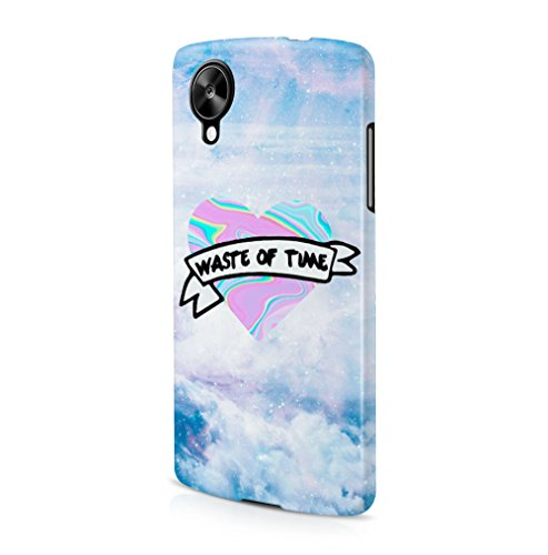 waste-of-time-holographic-tie-dye-heart-stars-space-lg-google-nexus-5-snapon-hard-plastic-phone-prot
