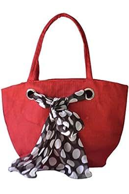 Earthen Me Handbag (Red) (BBJ133-Red)