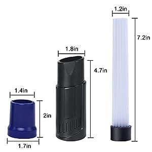 Asamoom testina universale per aspirapolvere dust spazzola duster strumenti di pulizia per presa - Presa d aria cucina ...