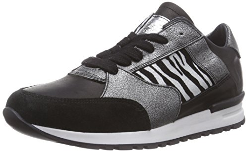 HIP H1651, Low-Top Sneaker Ragazza, Nero (Schwarz (10ZE)), 33