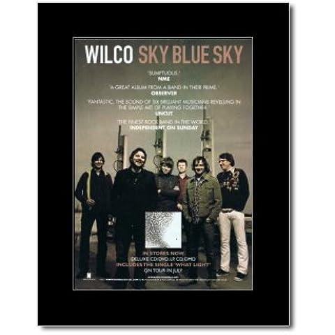WILCO - azul cielo enmarañado minipóster - cielo 28,5 x 21 cm