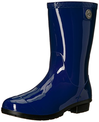 UGG Women's Sienna Rain Boot, Blue Jay, 8 B US