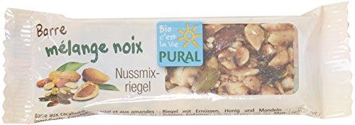 Pural Barre Croquante au mélange de noix Bio 25 g