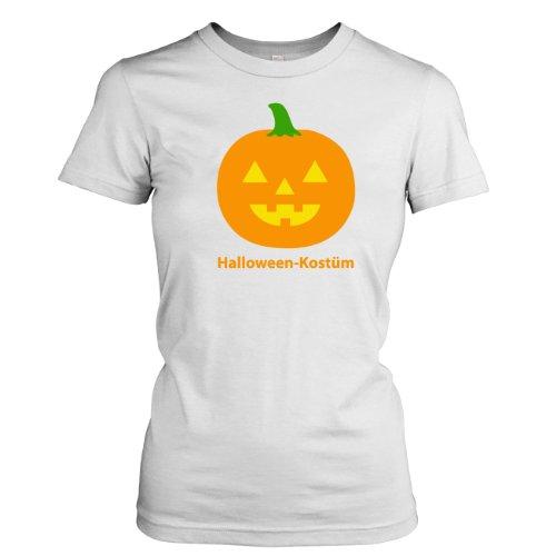 TEXLAB - Halloween Kostüm - Damen T-Shirt, Größe L, weiß