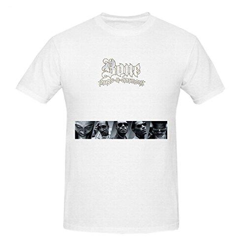Bone Thugs N Harmony Meet Me In The Sky Men Printed T Shirts O Neck Large