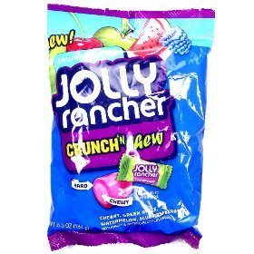 Jolly Rancher Crunch and Chew 6.5 oz (184g) (Jolly Rancher Chews)