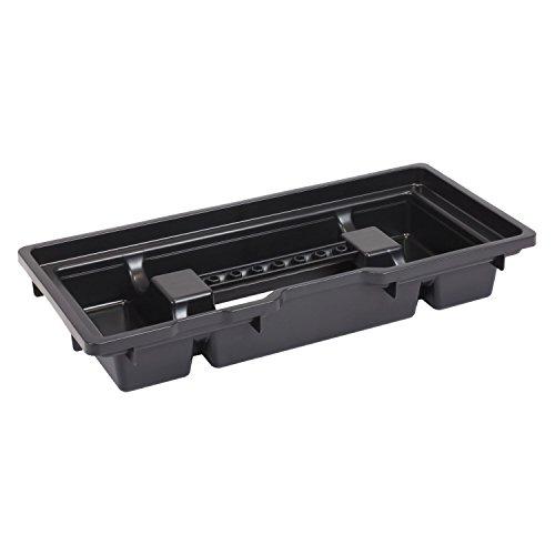 HD Compact 1 Werkzeugkoffer Box Toolbox Werkzeugkiste 450x350x350 Alugriff schwarz - 6