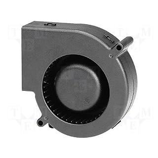 Sunon Radial Lüfter 97x94x33mm PMB1297PYB1-AY DC 12V 3600 U/min 56dBA Kugellager 2 Litzen