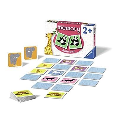 Ravensburger- memory®- Animaux- Jeu Educatif- A partir de 2 ans- 24153