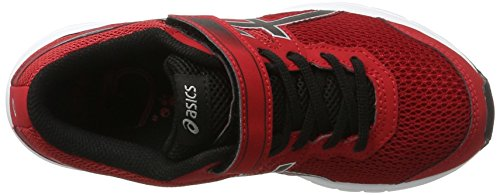 Asics Gel-Zaraca 5 Ps, Chaussures de Course pour Entraînement sur Route Mixte Enfant Rouge (True Red/black/silver)
