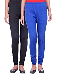 Belmarsh Warm Leggings - Pack of 2 (Black_Royal_Blue)