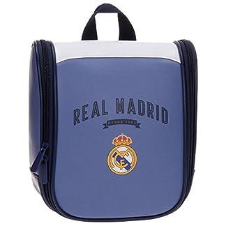 Real Madrid-4984551 Neceser, Color Morado, 22 cm (Joumma 49845)