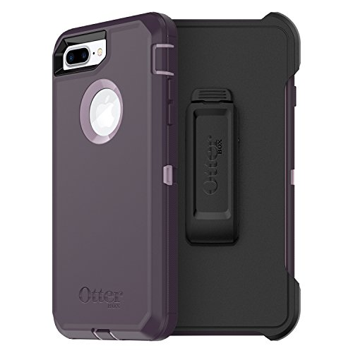 OtterBox Defender Series Schutzhülle für iPhone 8 Plus/iPhone 7 Plus, Frustfreie Verpackung, Purple Nebula (Winsome Orchid/Night Purple)