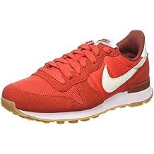 Damen Nike WMNS Internationalist Rot Weiß C64i6564MZ78